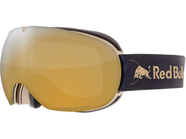 Red Bull SPECT Magnetron Ace Lunettes de protection, gold-gold snow